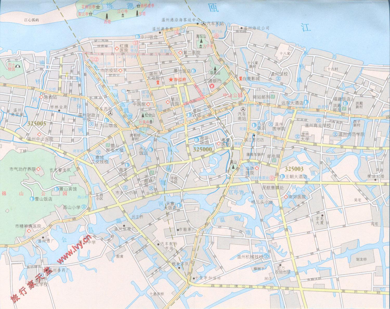 温州市区地图[简图]
