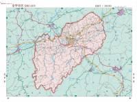地图 金华市/浙江省金华市区地图