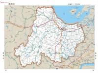 湖州 地图/浙江省湖州地图