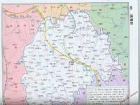 地图 定西/通渭县地图