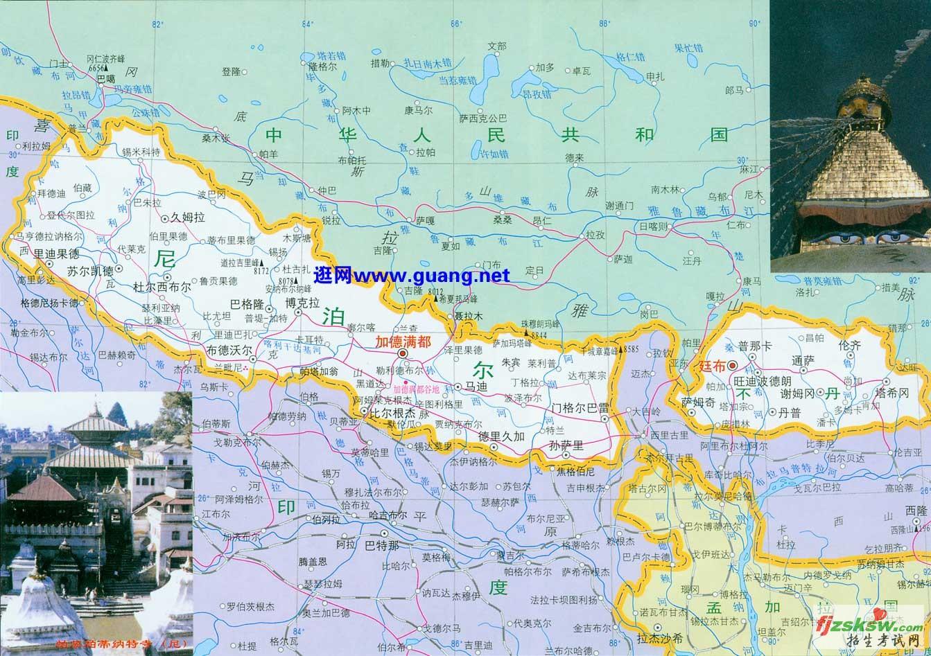 亚洲 地图 英文 版