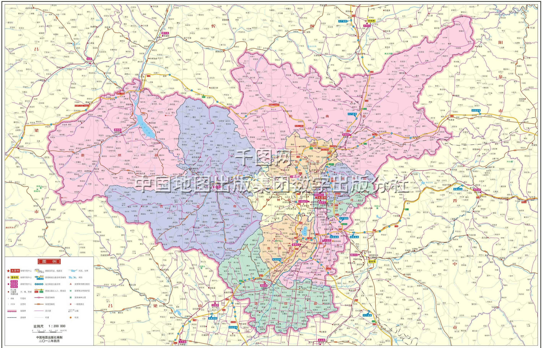 太原市地图高清版_太原地图库