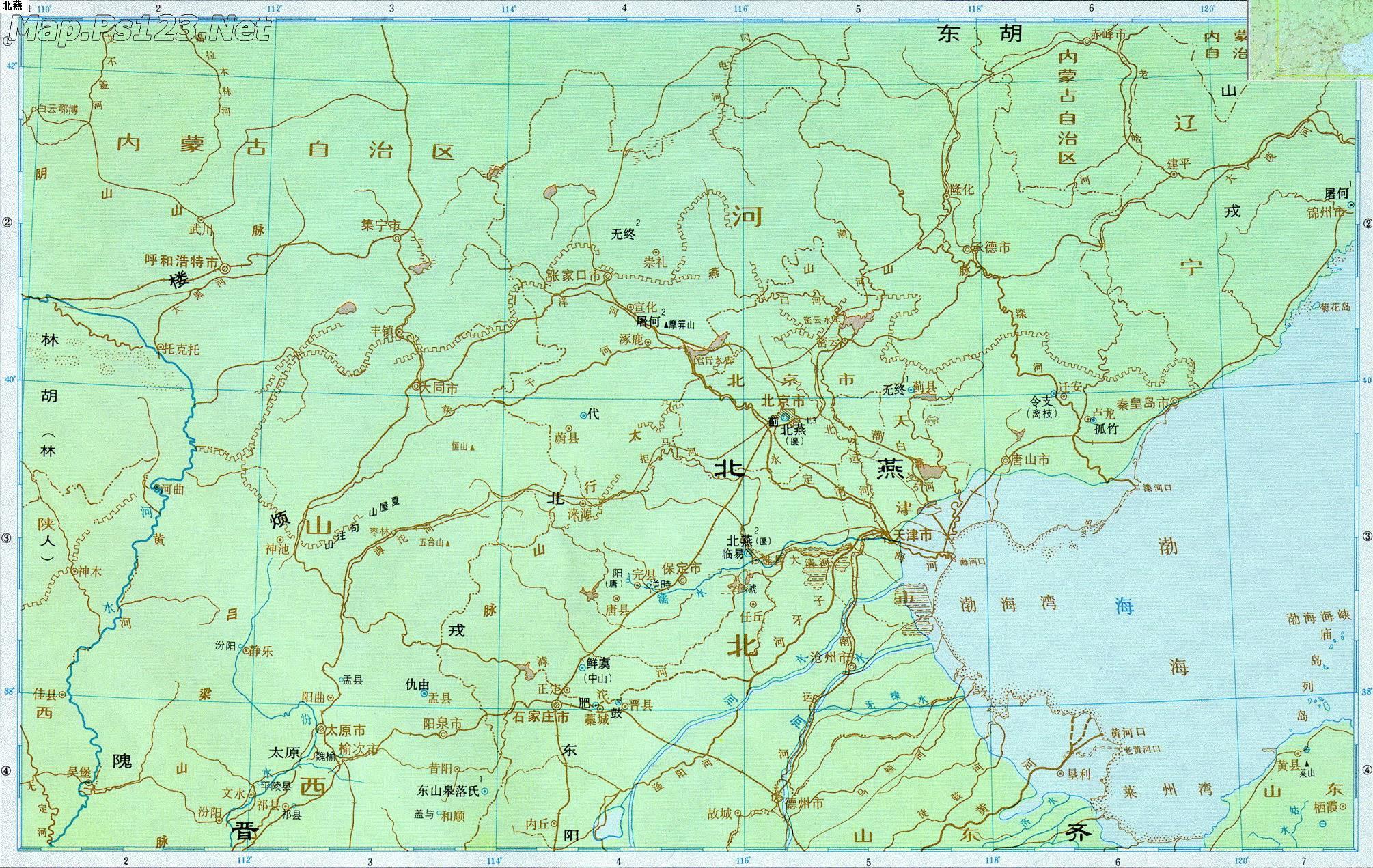 历史地图:北燕_中国历史地图查询