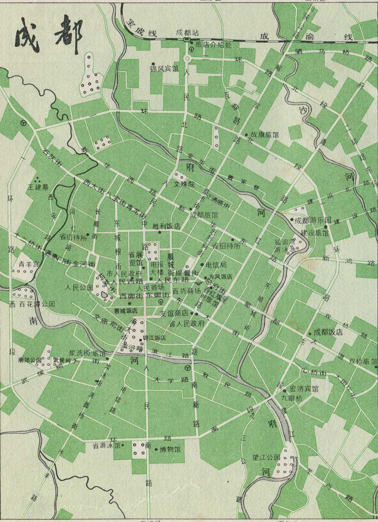南宁市铁路线路图  | 铁路线路图 |  下一张地图: 贵阳市铁路线路图