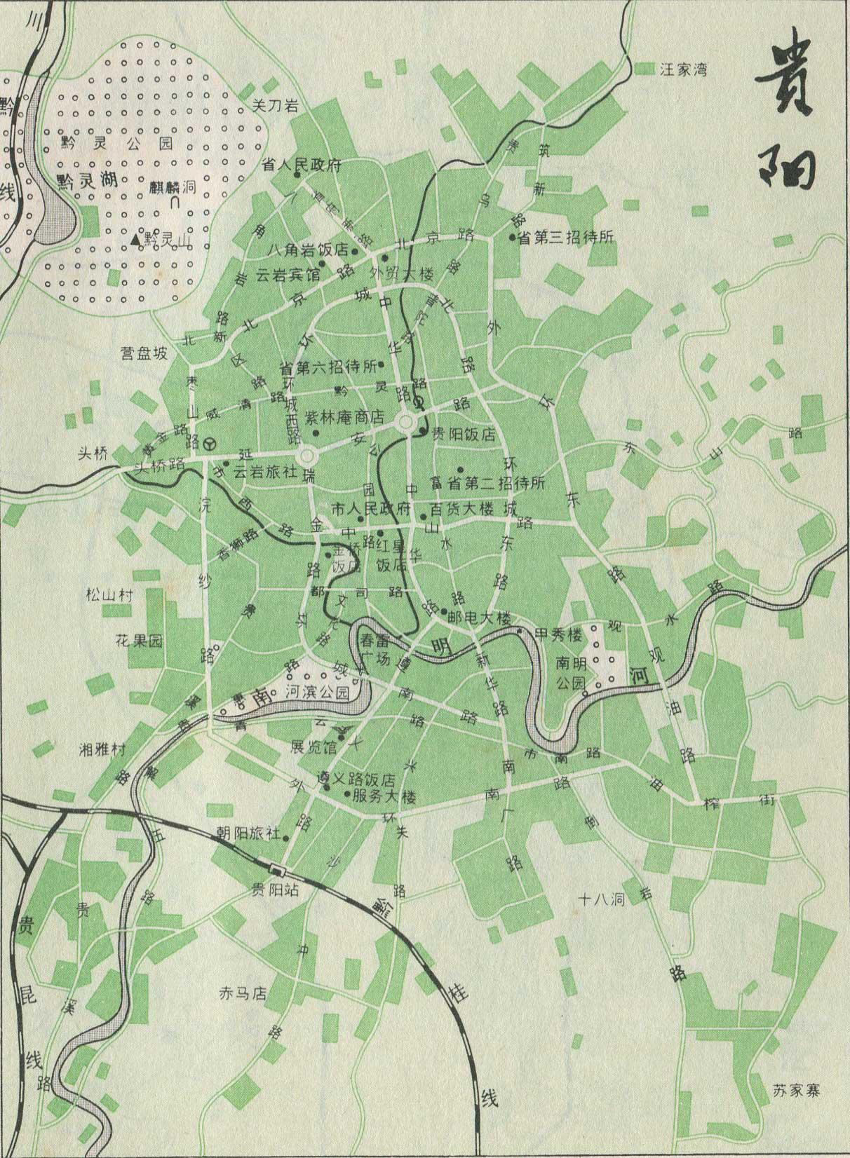 贵阳市铁路线路图_交通地图库_地图窝图片