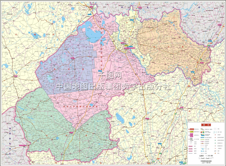 松原市地图高清版