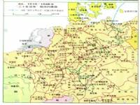 世界 世界历史地图/三十年战争期间的德国