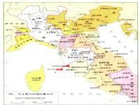 世界 世界历史地图/文艺复兴时的意大利