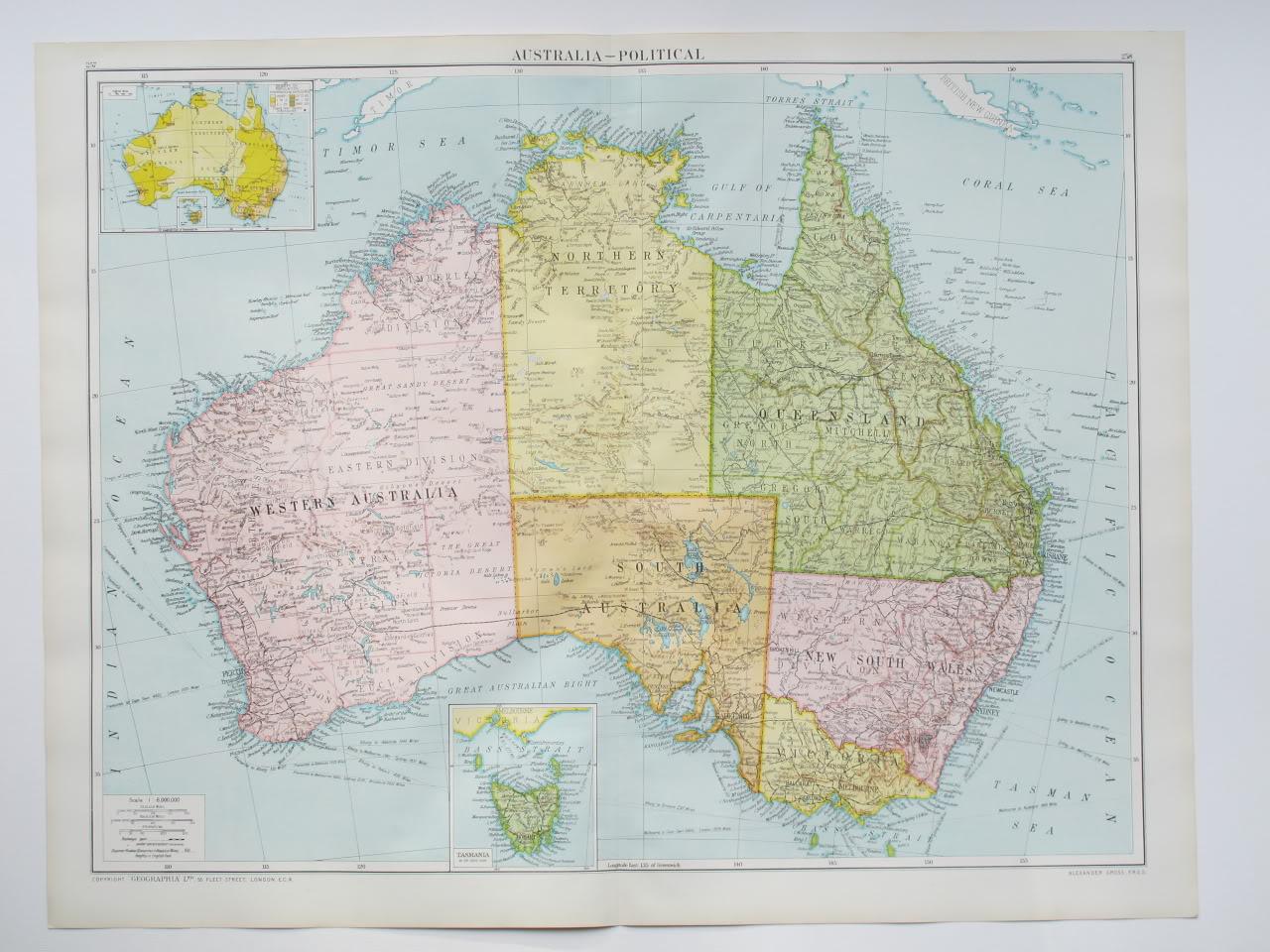 地图 澳大利亚/澳大利亚地图英文