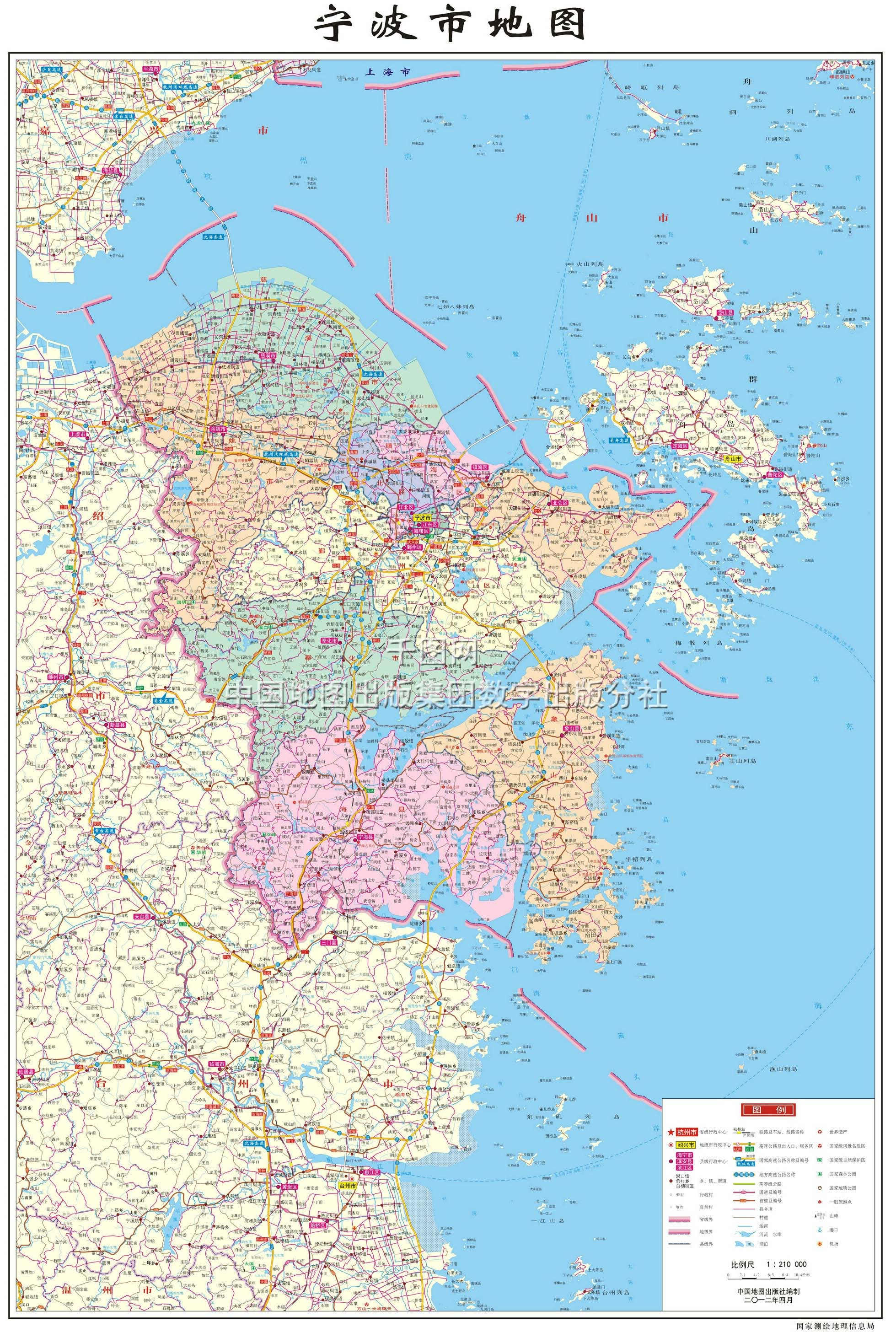 舟山市地图_舟山地图,舟山地图高清版
