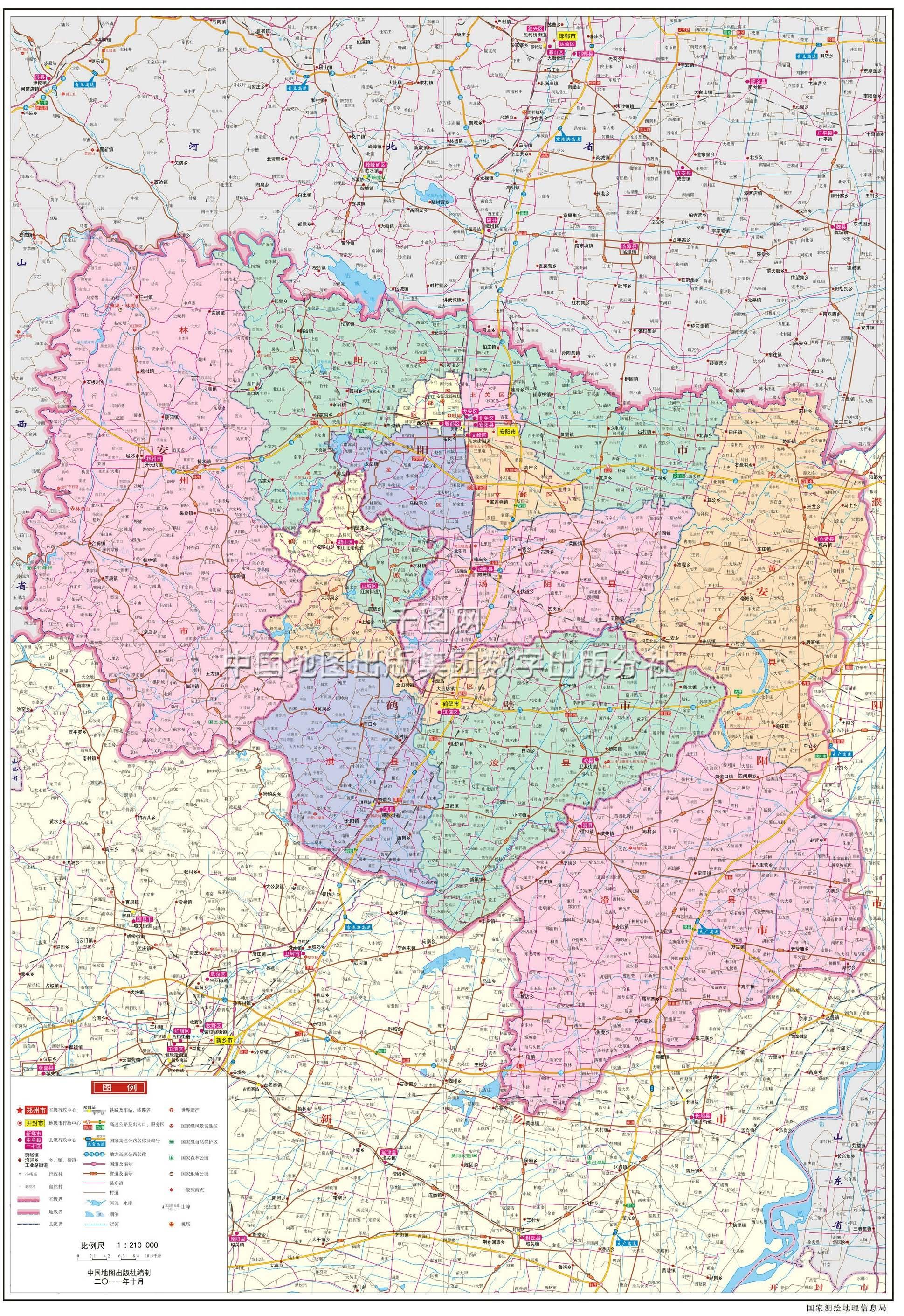 河南安阳林州市地图 河南安阳安阳县地图; 安阳市地图; 鹤壁市地图