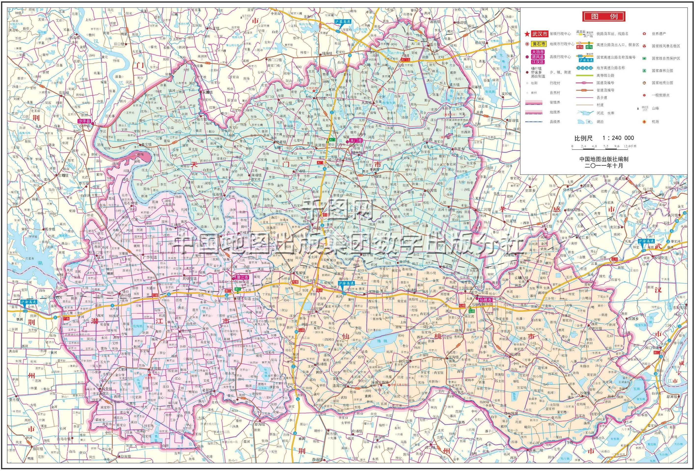 湖北电子地图高清版_湖北各市区详细地图图片
