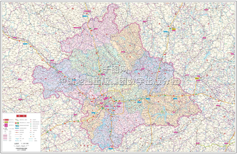 南宁市地图高清版