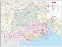 港口区地图_防城港地图库图片