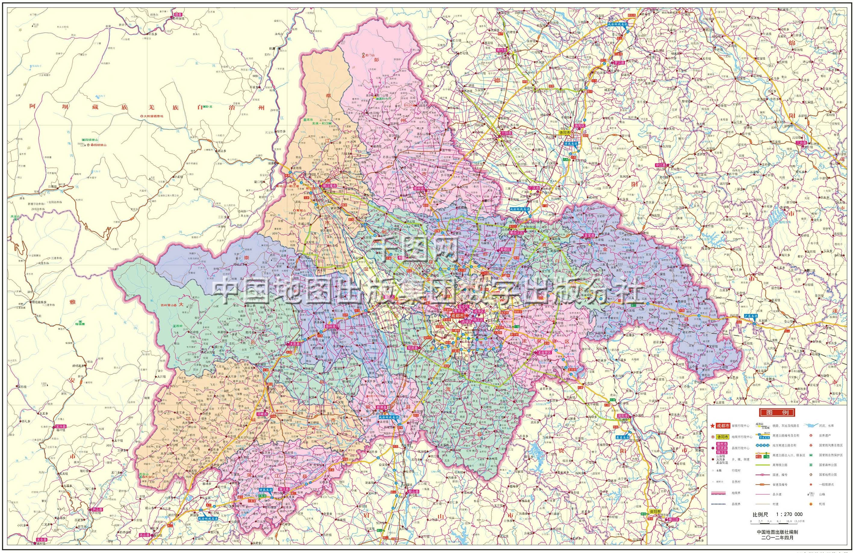 成都市地图全图_成都市地图高清版_成都地图库