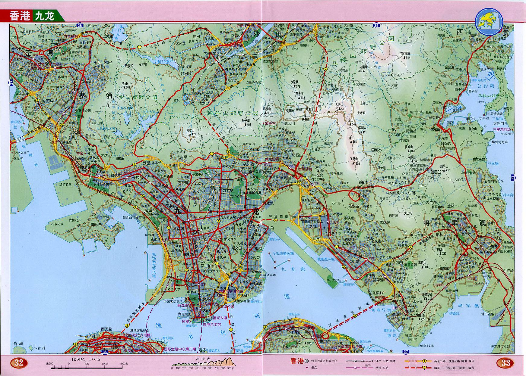 地图库 中国地图 香港 >> 九龙地图高清版    世界各国 | 中国各地图片