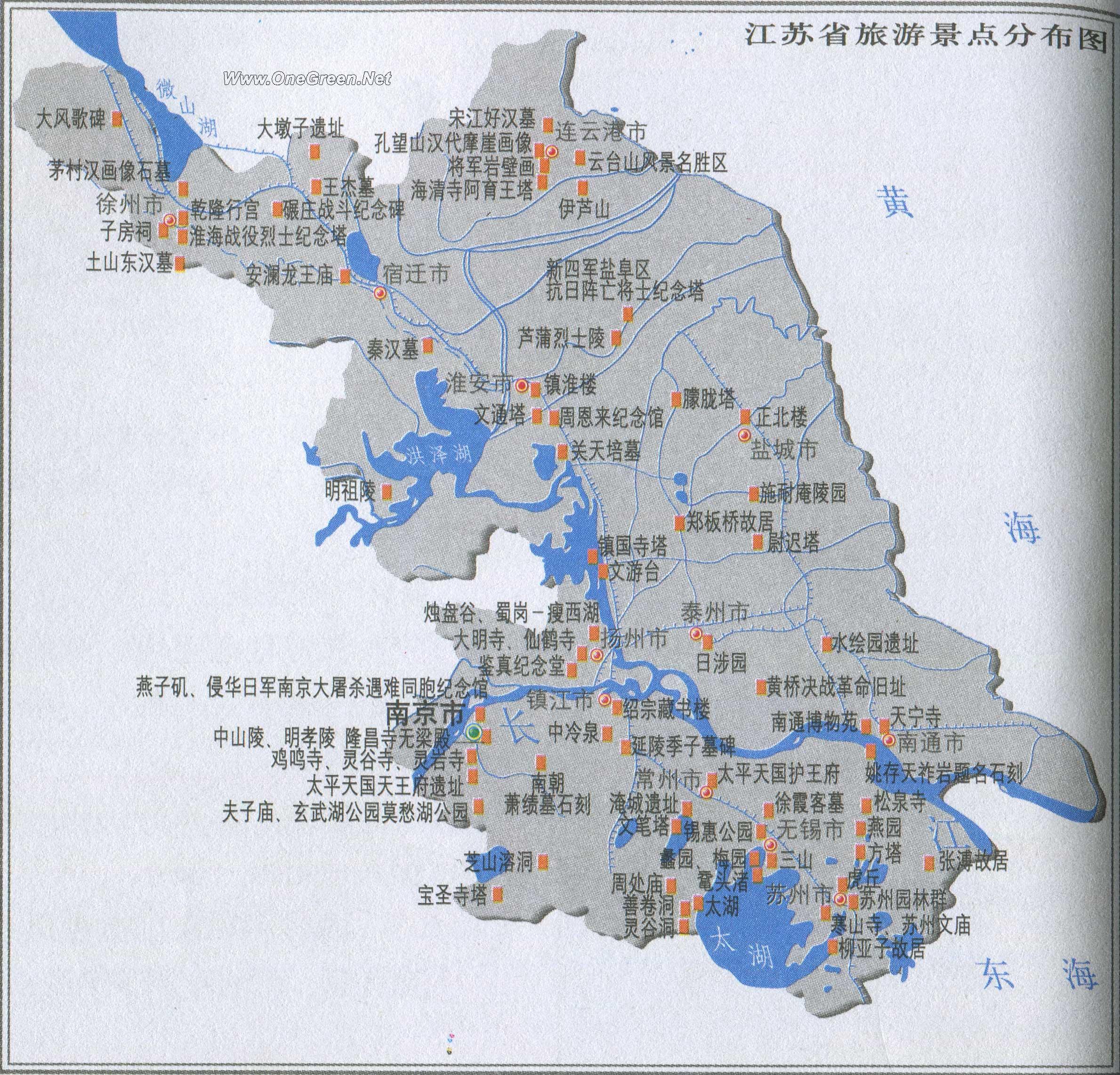 浙江省旅游景点地图_江苏旅游景点分布图_景点分布图地图库_地图窝