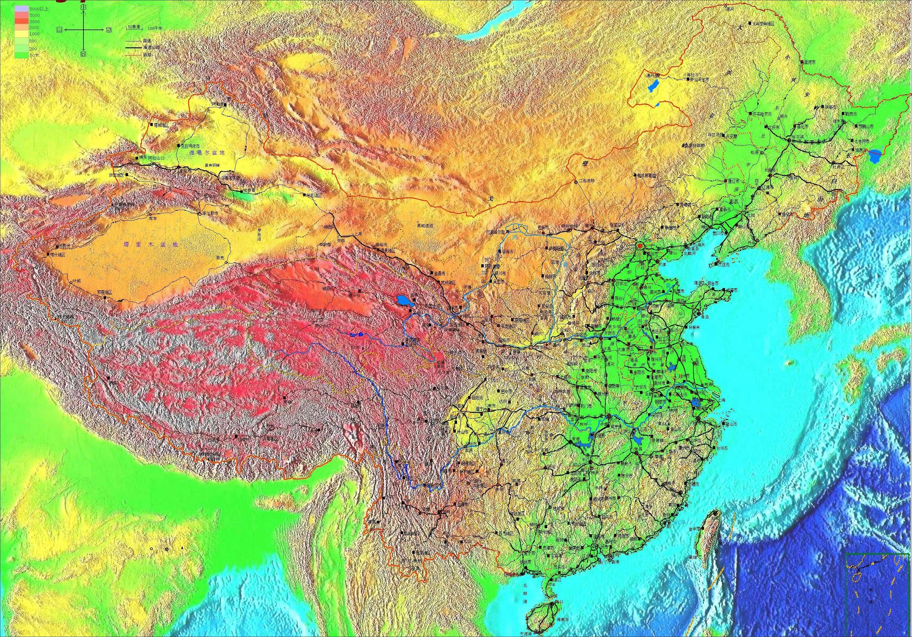 中国 |  下一张地图: 中国行政简图及领土纠纷