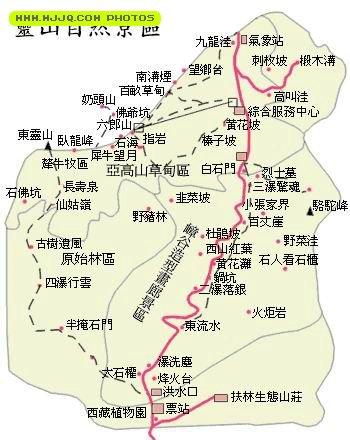 灵山自然风景区位于京西门头沟