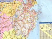 地图 高速公路/浙江高速公路地图2013
