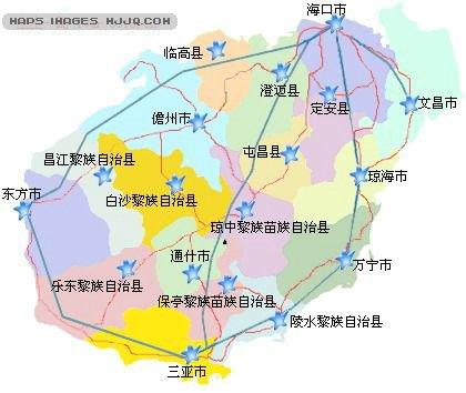 三亚市地图 海南地图 三亚郊区地图