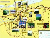 巩义旅游地图图片