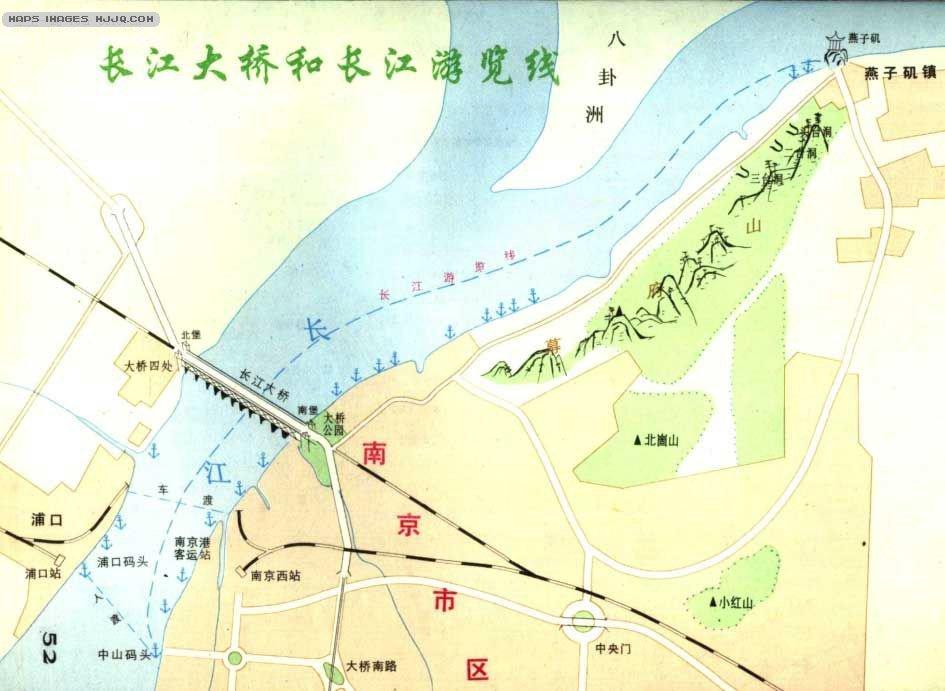 云龙山旅游地图 宜兴竹海导游图