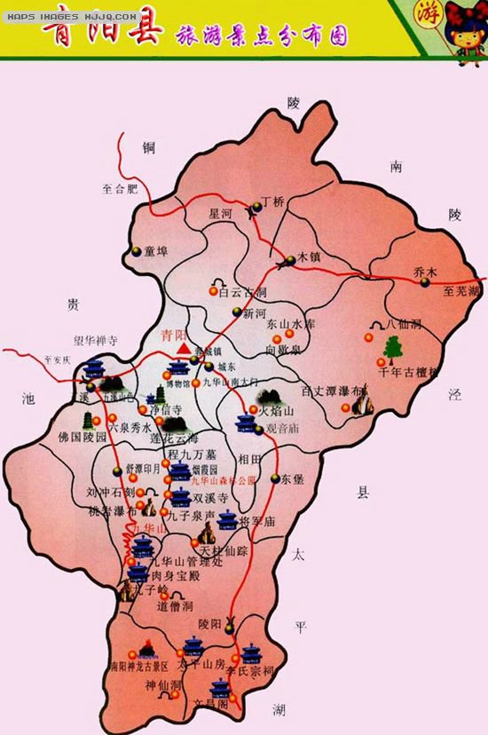 宿州周边景区地图
