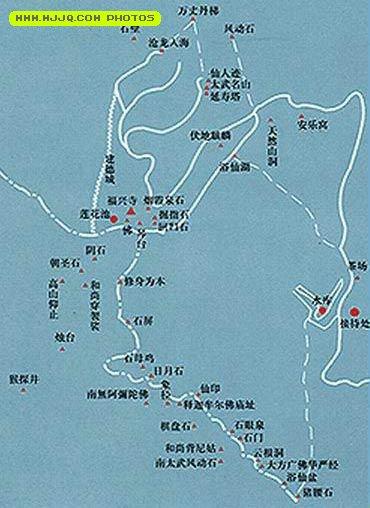 南太武山在龙海市港尾镇东南10余公里处,南太武山与金门的北太武