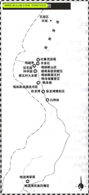 新疆阿勒泰地图_喀纳斯湖地图_新疆旅游地图库_地图窝