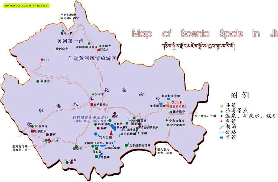 塔城之和丰公路地图