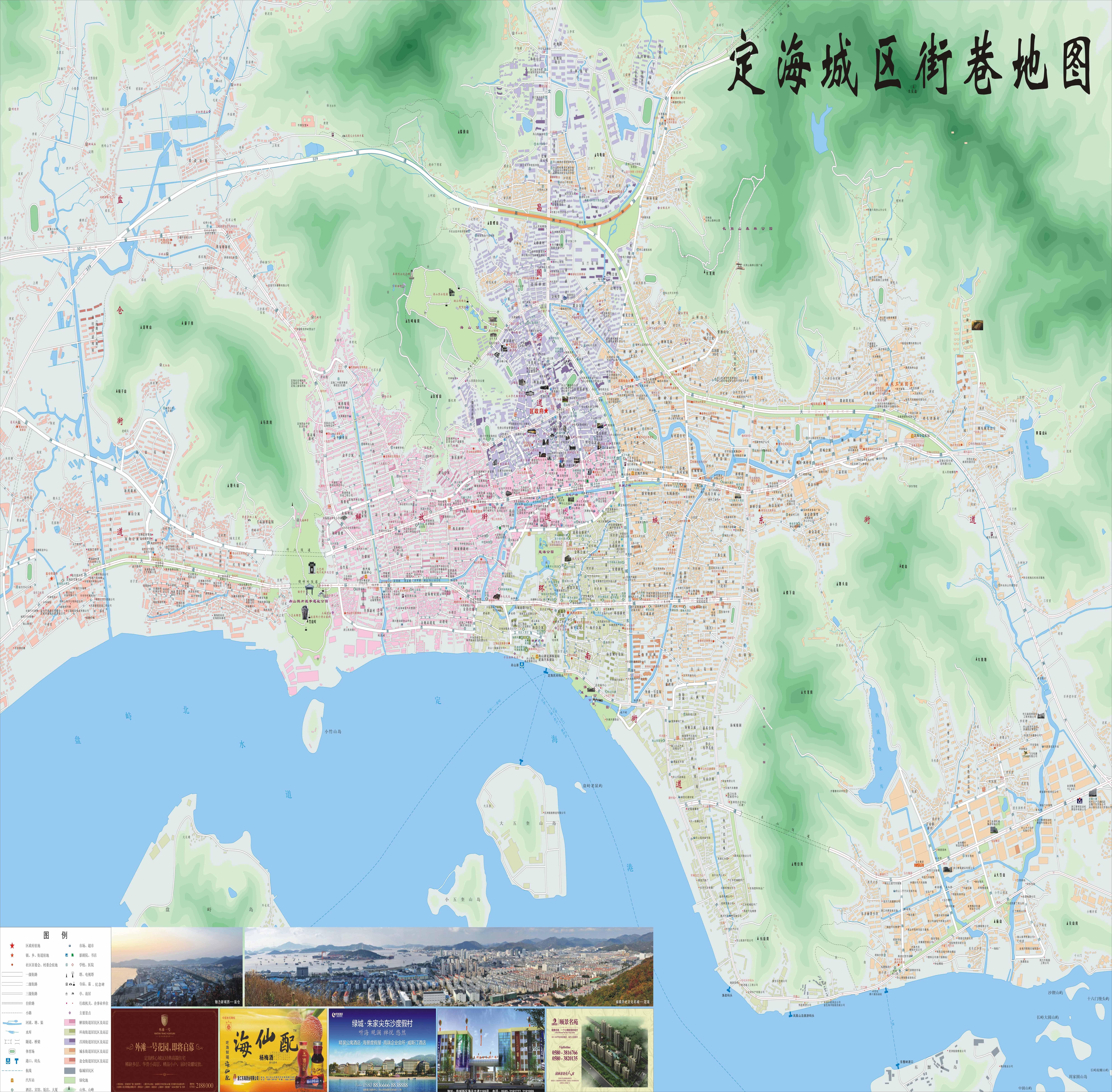 淳安千岛湖自驾车旅游交通图
