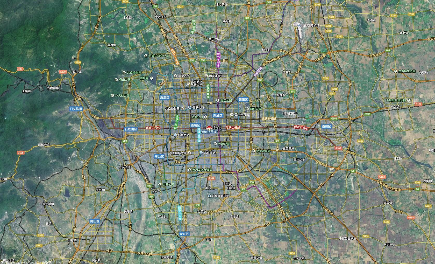 卫星地图高清晰2010