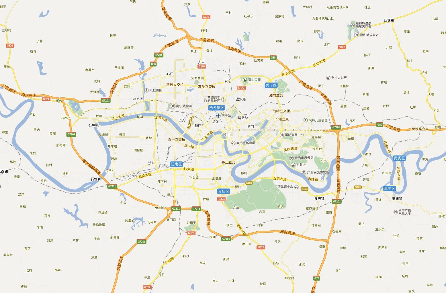 电子地图,北海行政地图全图,高清版大图 - 图吧地图 南宁地图全图