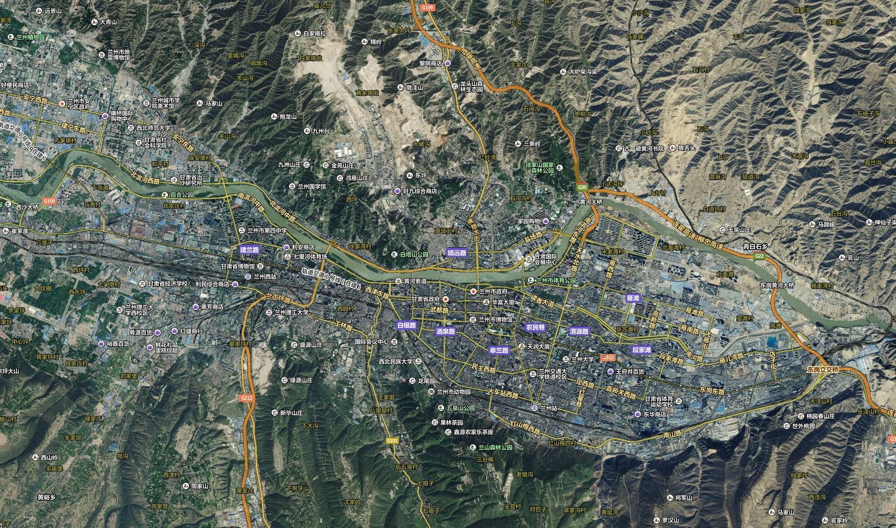旅游簡圖  必游景點  重要景區  旅游線路圖  景點分布圖  衛星地圖