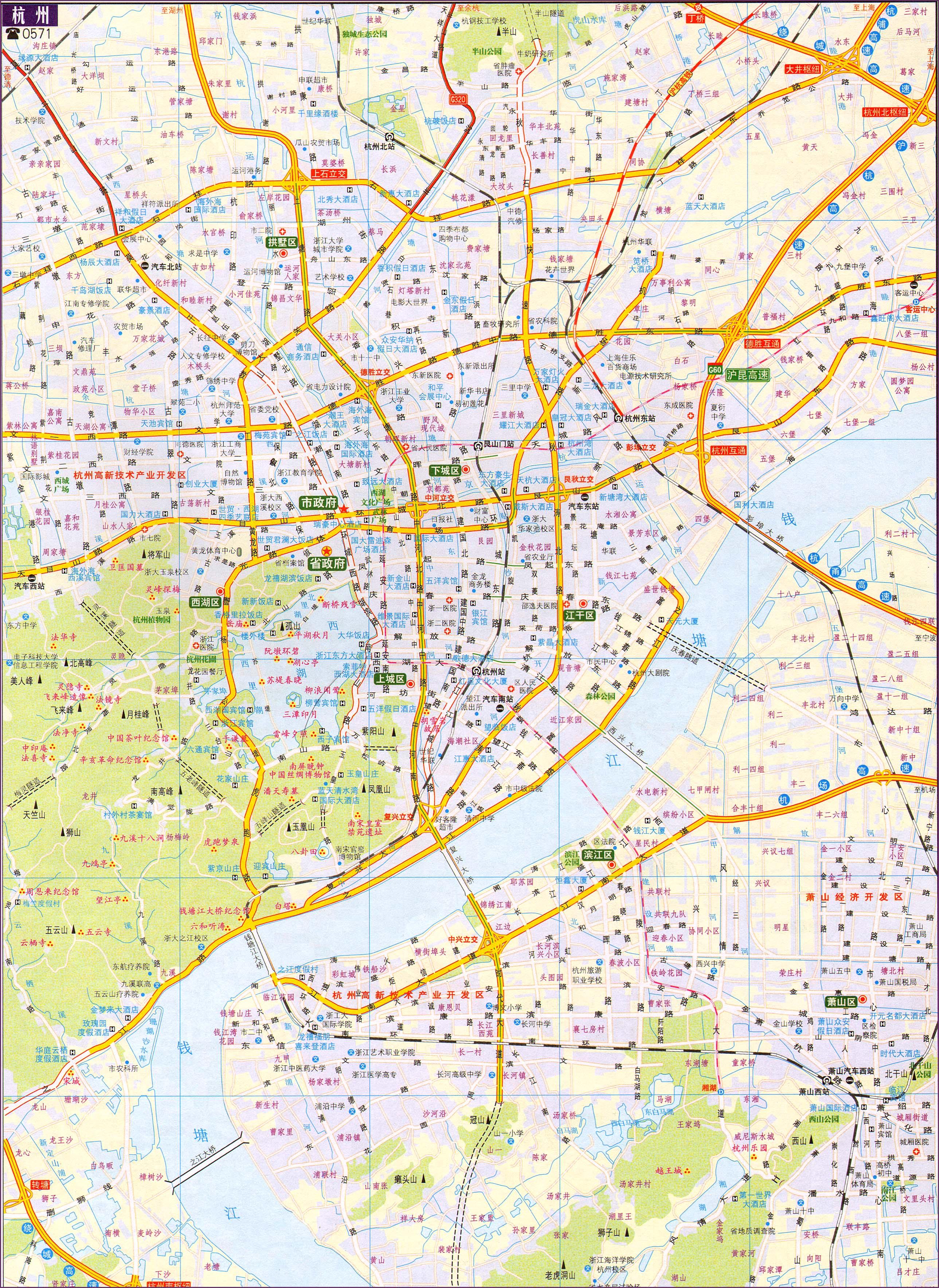 葫芦岛市连山区塔山乡地图