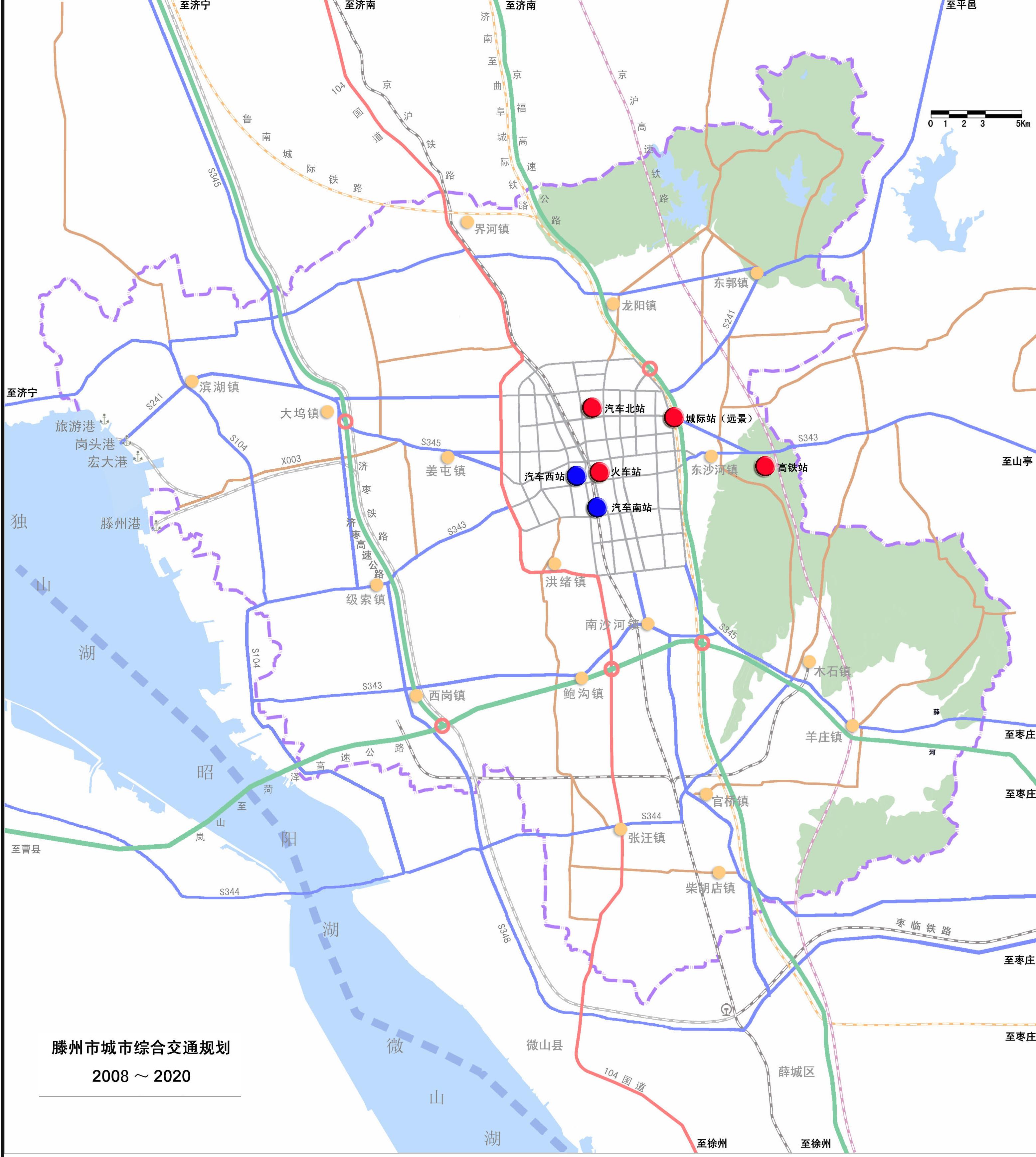枣庄飞机场的规划