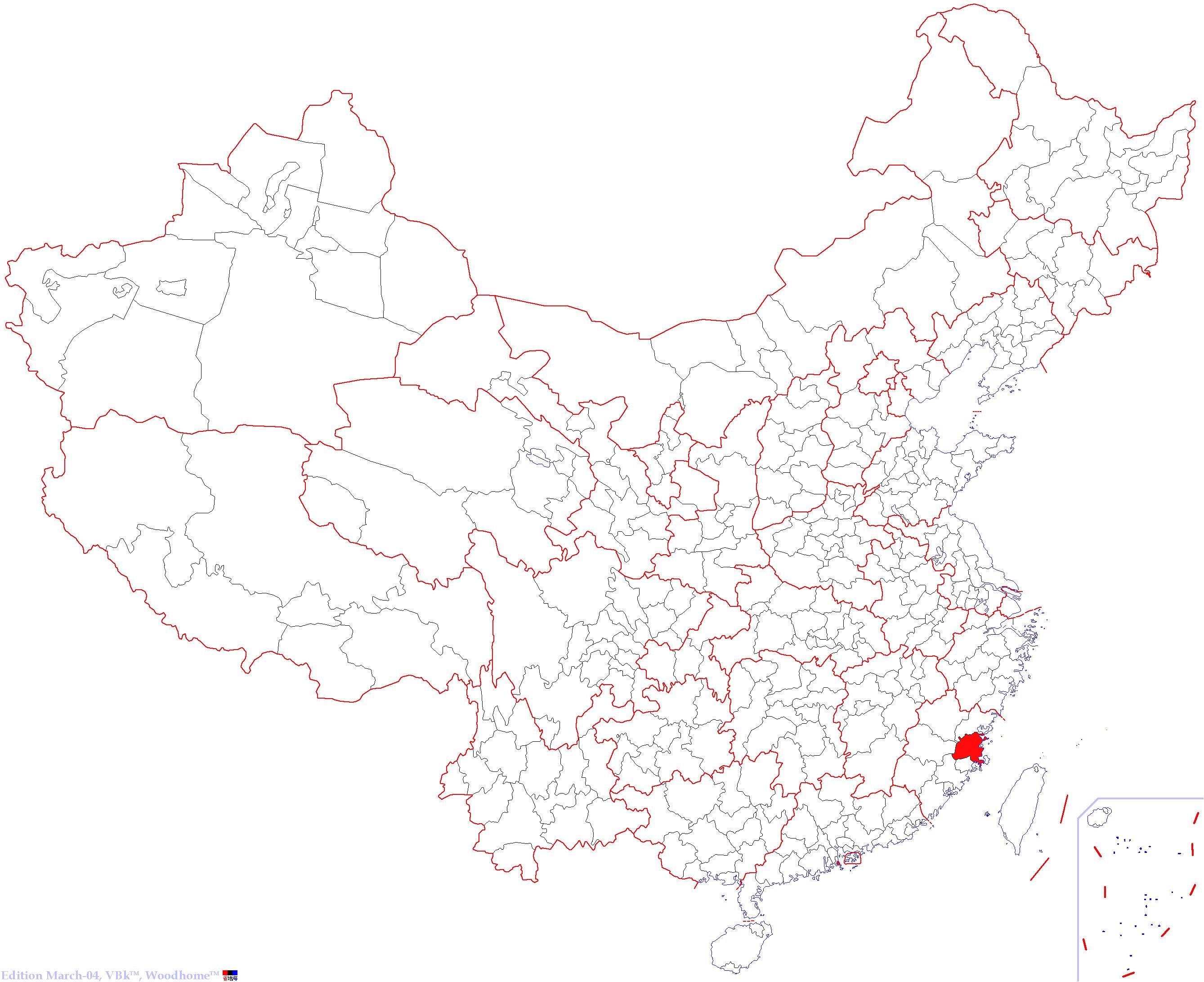 如图是中国空白政区图,读图回答下列问题:(1)北回归线
