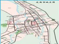 地图 甘肃/定西市城区地图