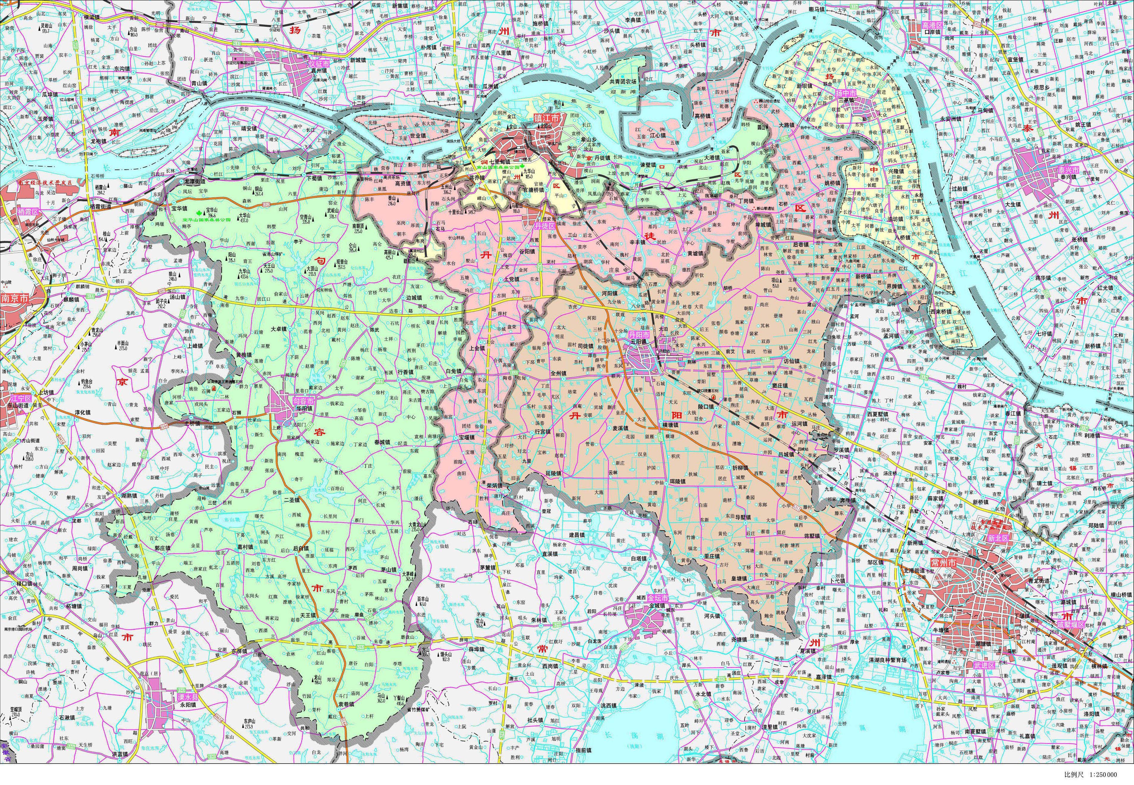 地图库 中国 江苏 镇江 >> 镇江市政区地图    世界各国 | 中国各地