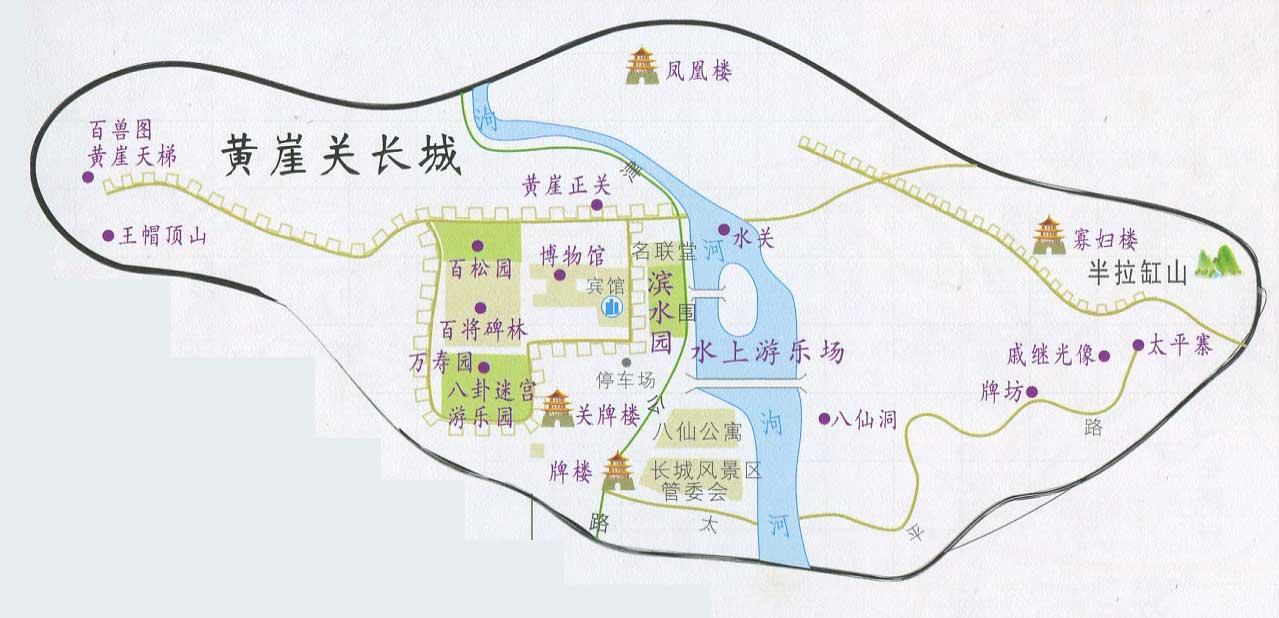 天津市区旅游交通地图