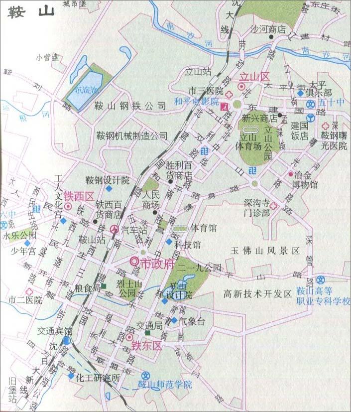 阜新   辽阳   盘锦   铁岭   朝阳   葫芦岛 上一张地图: 鞍山市地图