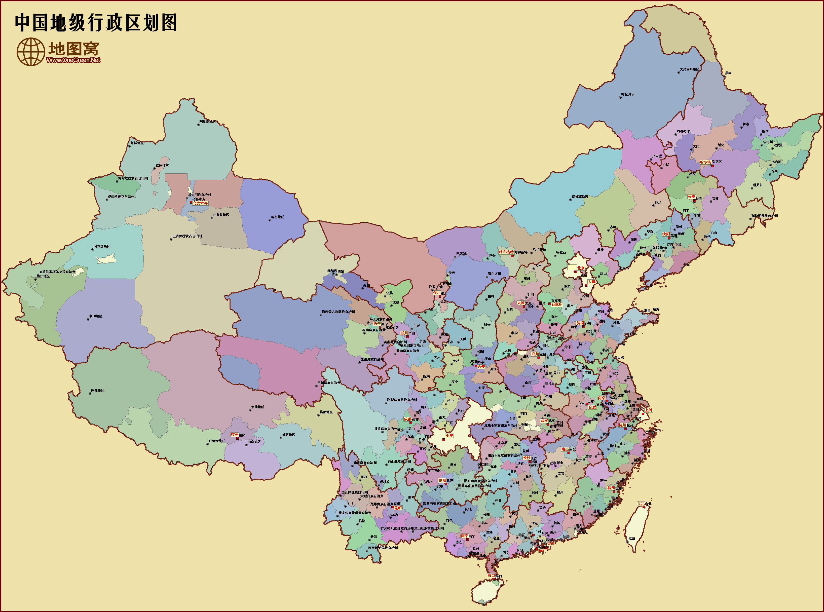 中国行政区划地图怎么样