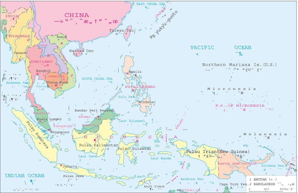 地图窝 世界 亚洲 >> 东南亚政区简图  栏目导航:亚洲  欧洲  非洲