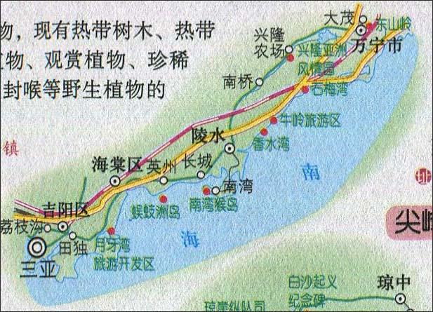 上一张地图: 蜈支州岛景点导游图  | 海南旅游 |  下一张地图: 海南省