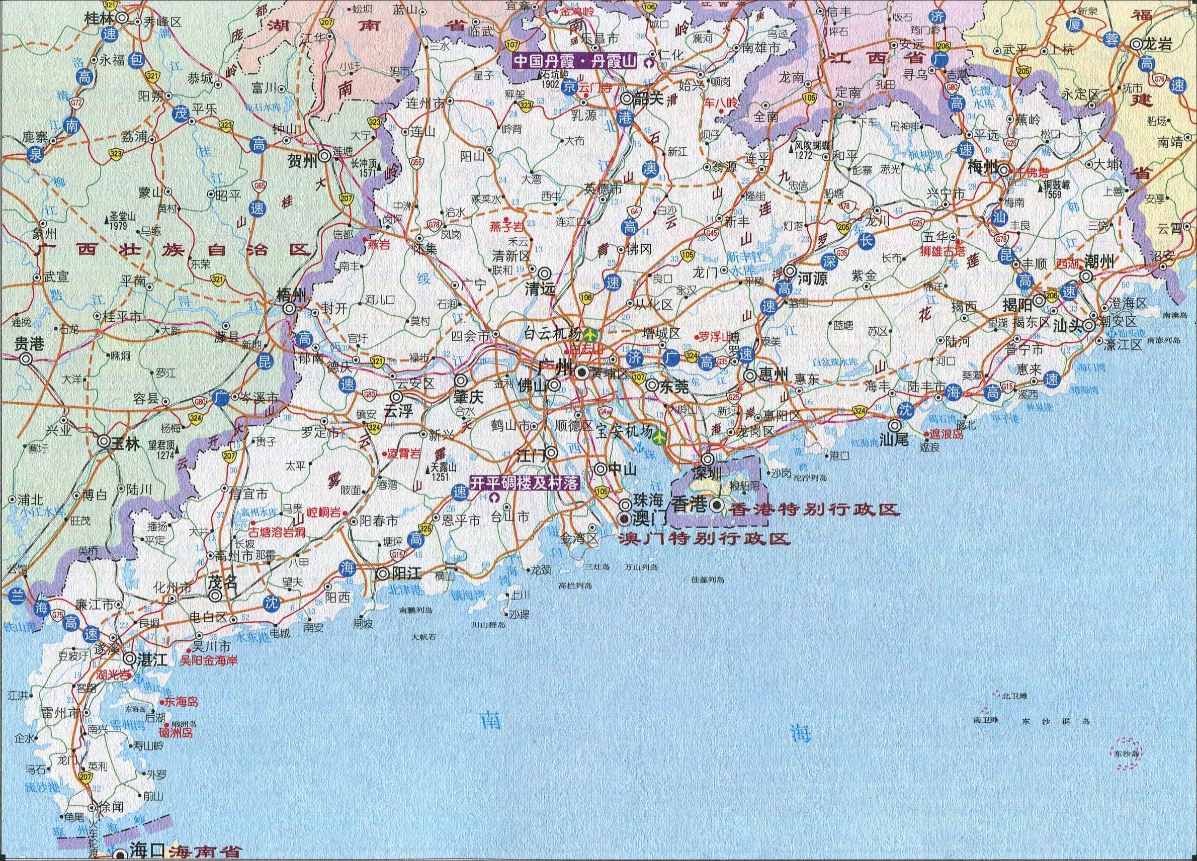 内蒙古景点地图全图