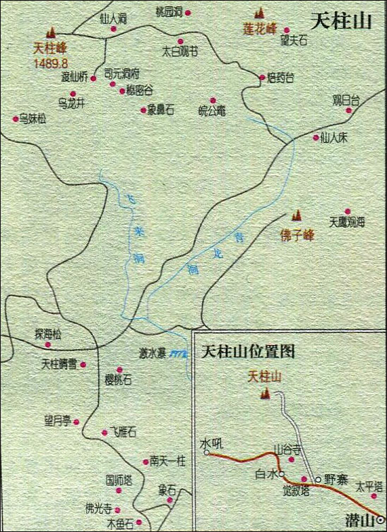 >> 天柱山旅游地图  安徽景点大全 上一张地图: 毫州至蚌埠旅游路线图