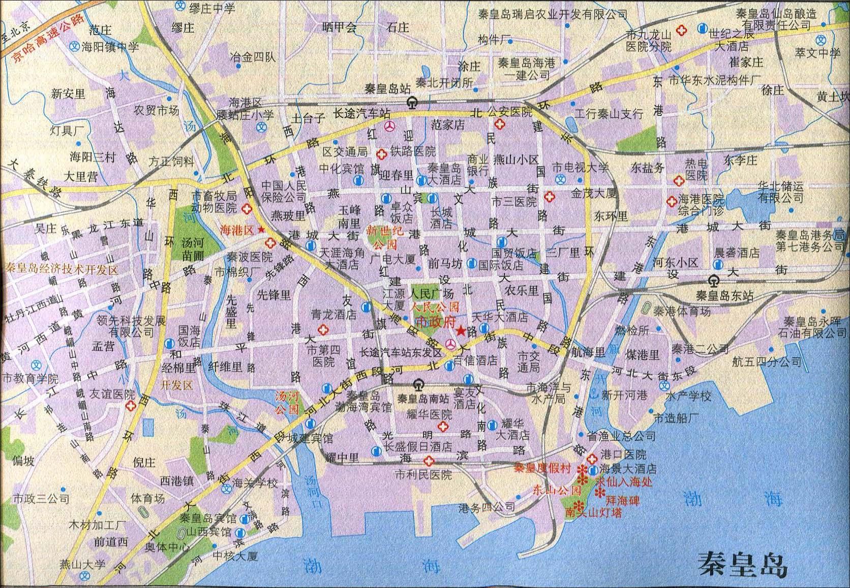 地图库 旅游地图 河北旅游 >> 泰皇岛旅游交通地图  景点导航:世界