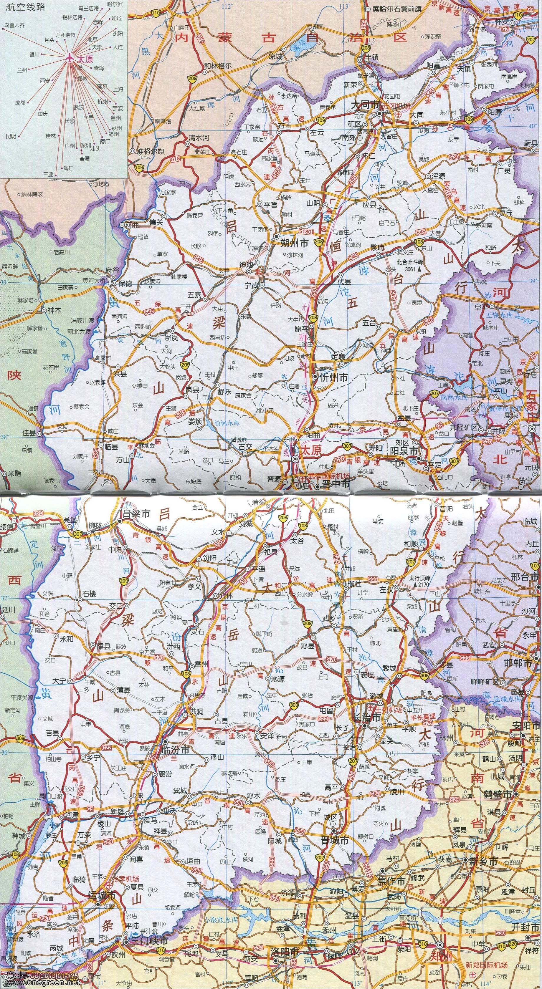 海南和云南的地图