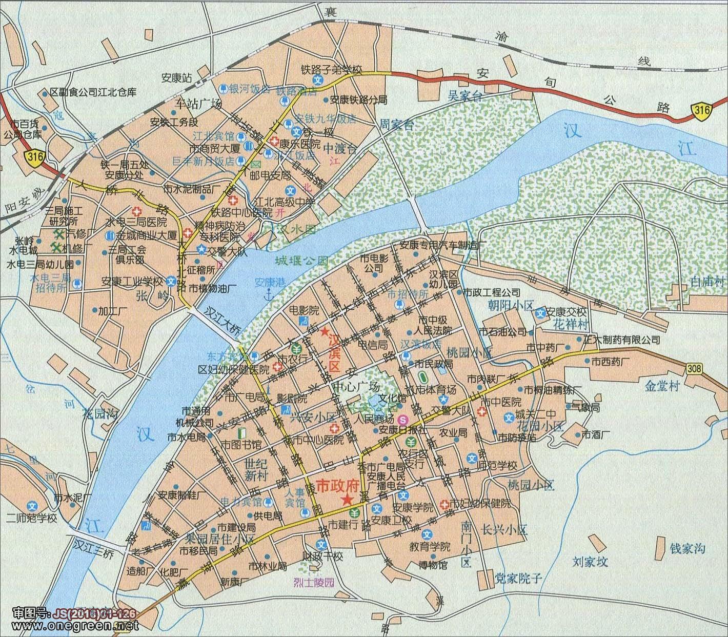 铜川市新区地图高清